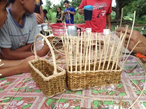 Livelihood Program - Weaving