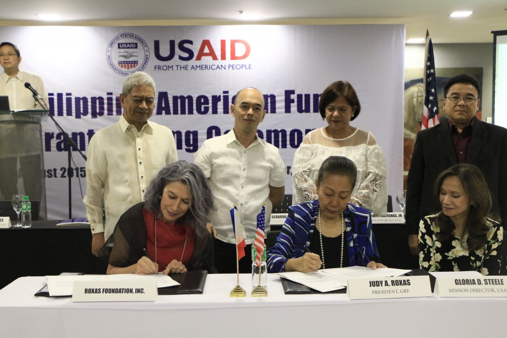 USAID Grant Signing